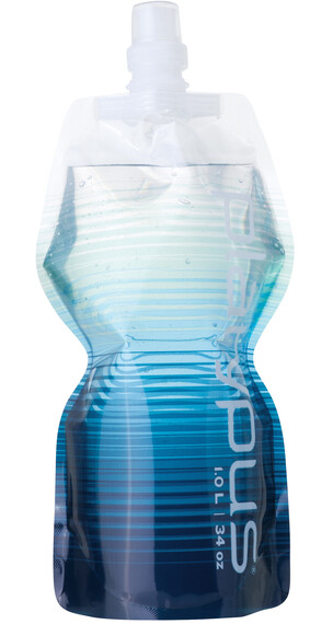 Platypus SoftBottle Drinkfles Closure Cap 1000ml blauw/wit